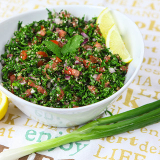 Fresh & Light 100% Authentic Lebanese Tabbouleh