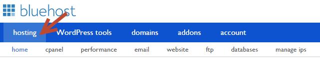 install wordpress on bluehost 1