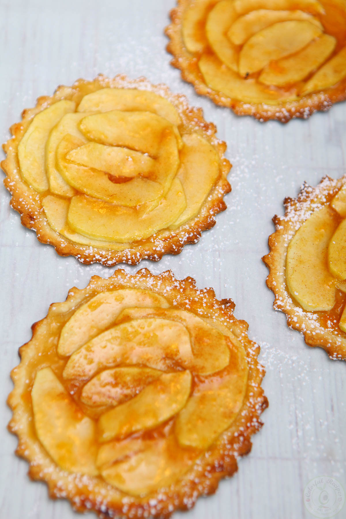 Mini French Apple Tarts Recipe
