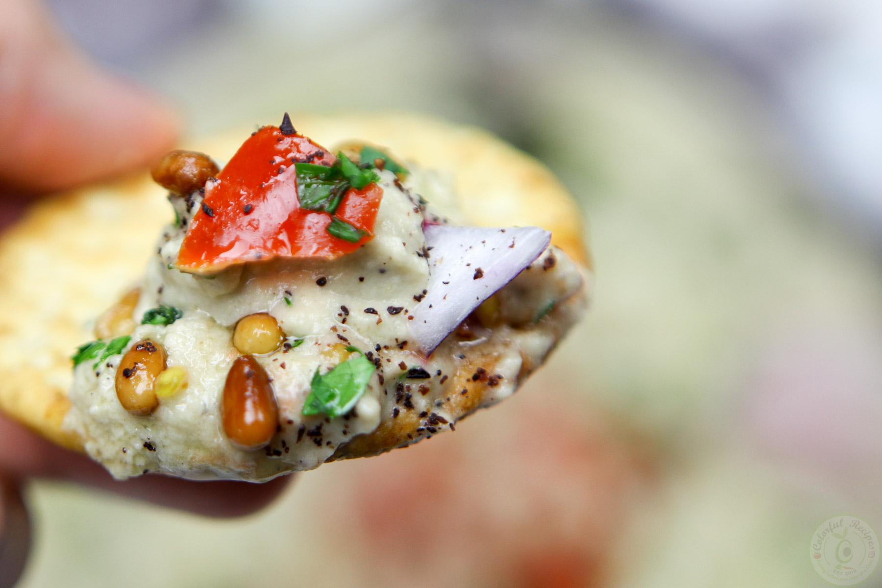 Lebanese Baba Ghanouj Eggplant Dip Colorful Recipes