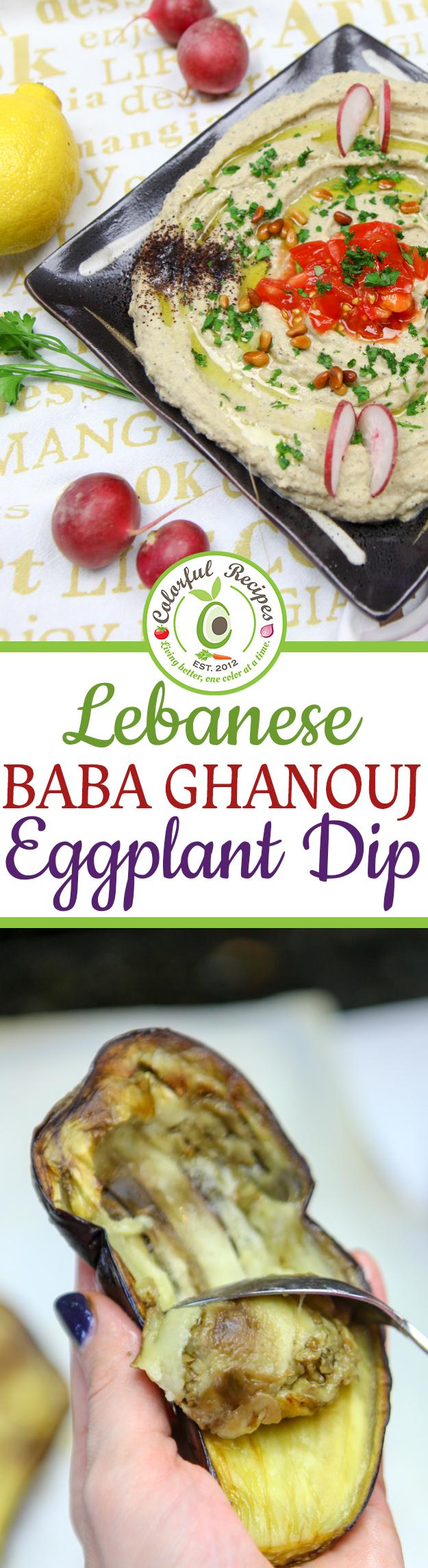 dip slender kitchen eggplant dip baba ghanouj recipe sbs food baba ...