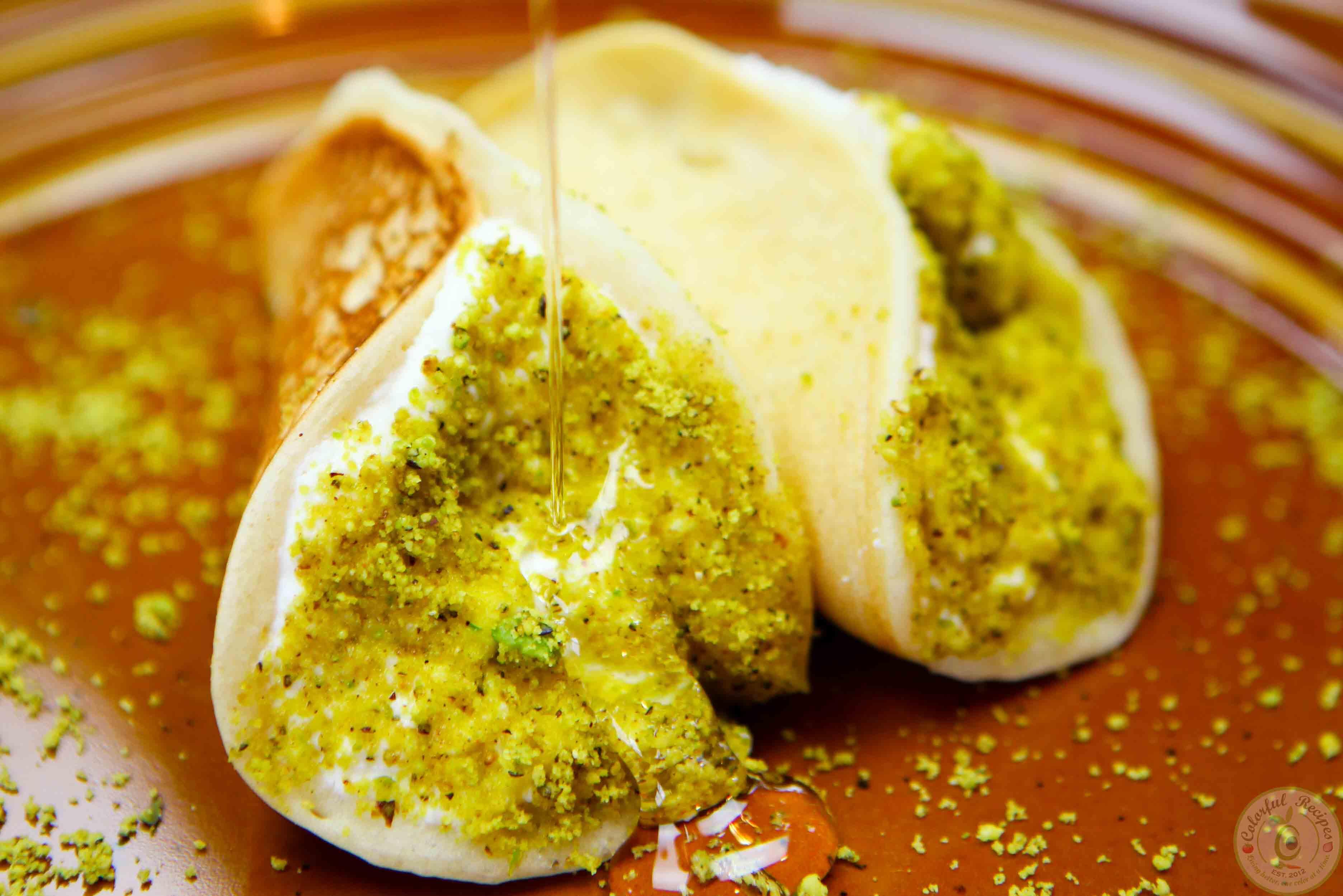 Simple Ricotta Stuffed Atayef Colorful Recipes