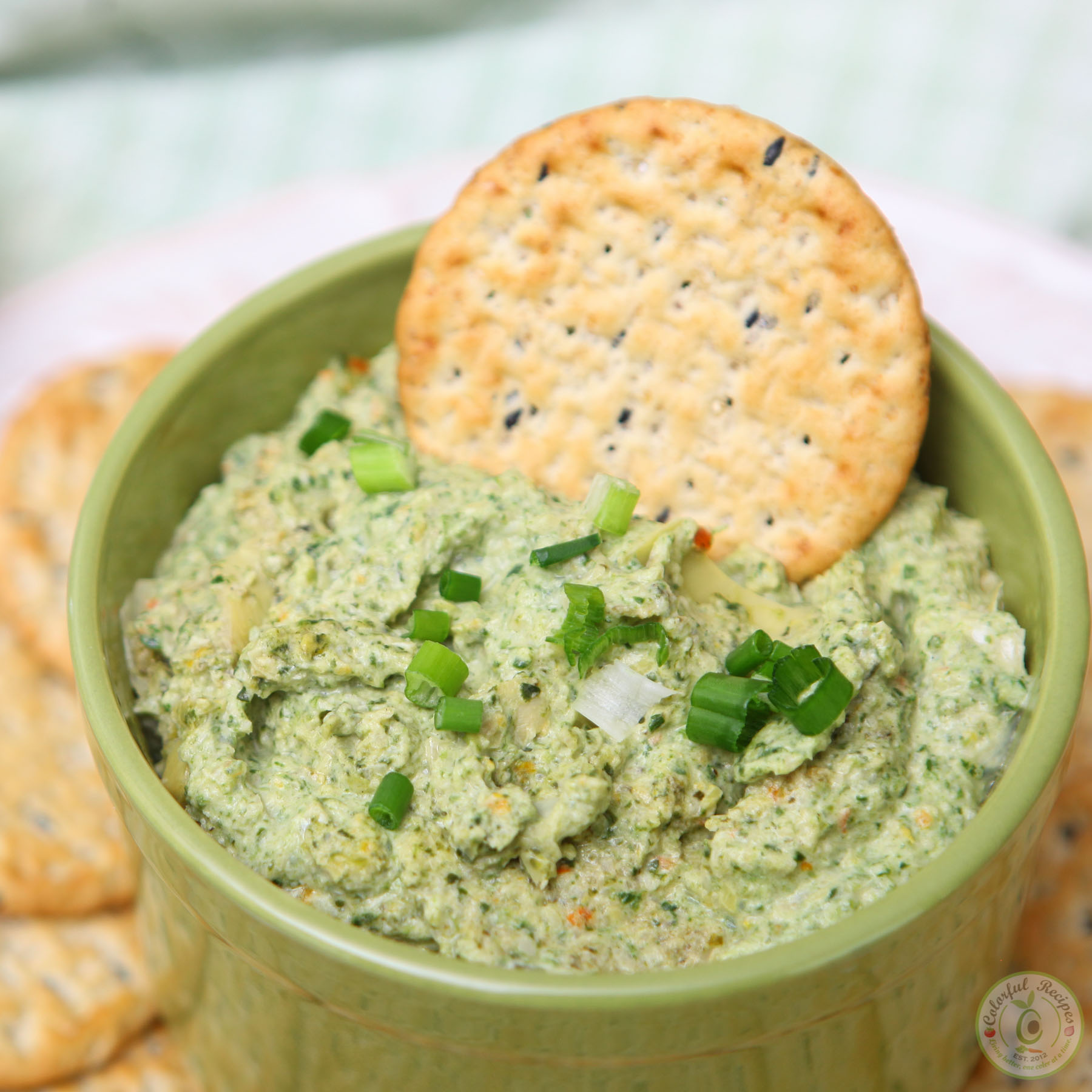 Hearty Artichoke Spinach Dip