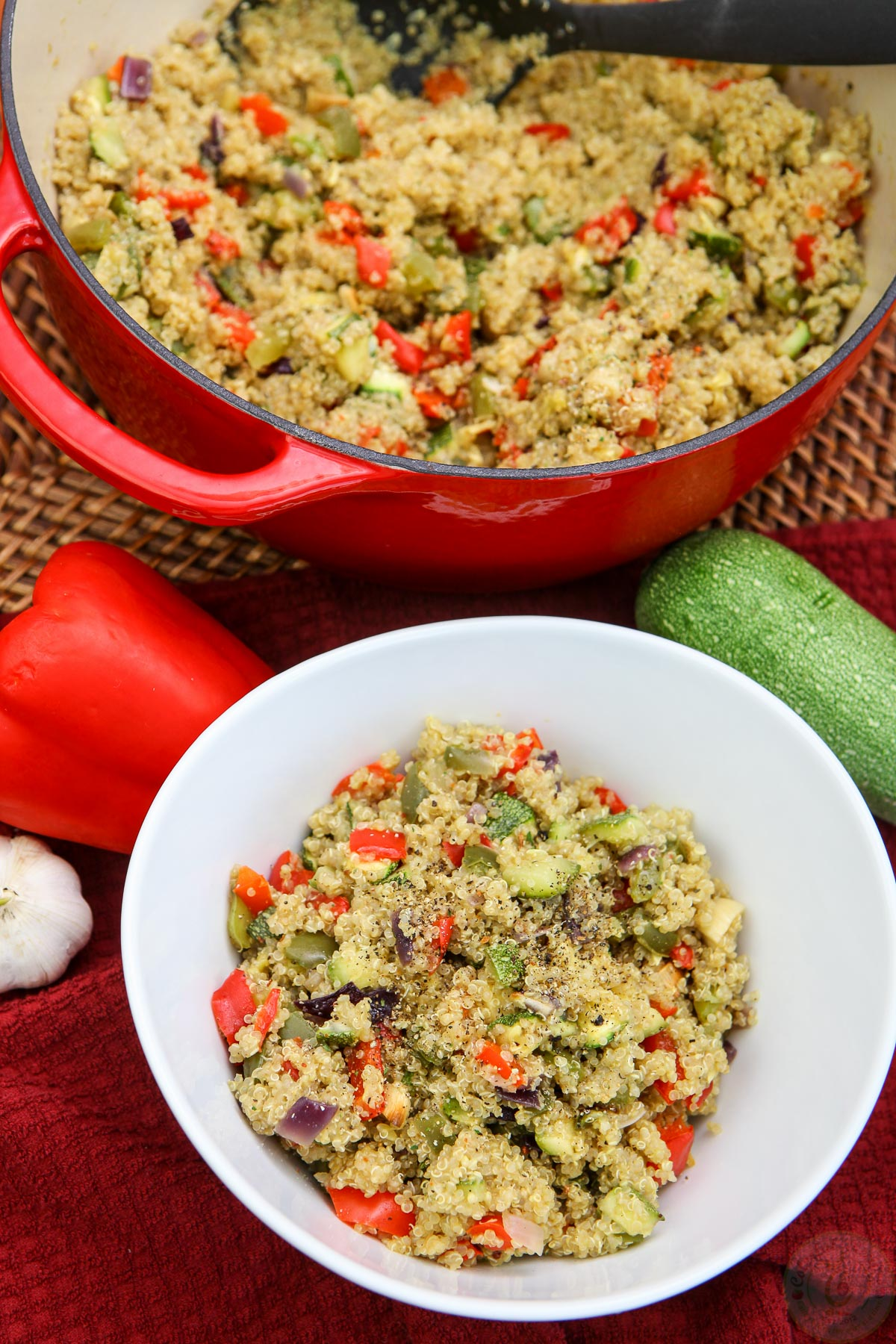 how to make vegetable pilaf