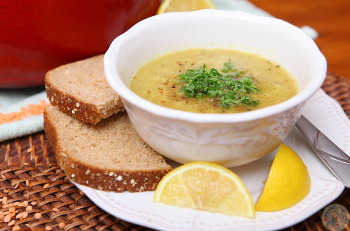 Shorbet Adas – Mediterranean Red Lentil Soup