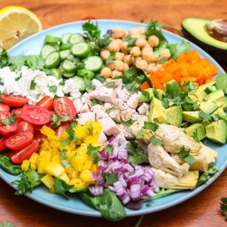 Rainbow Fresh Chopped Salad