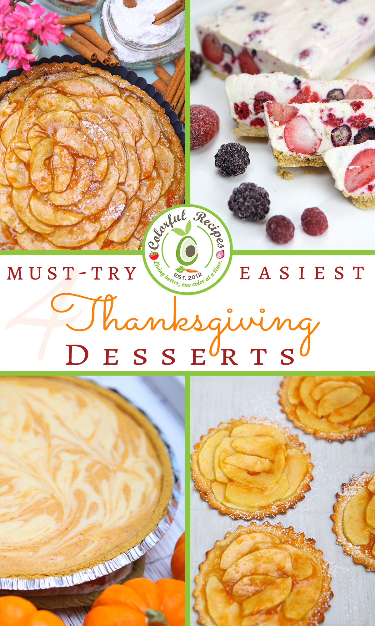 4 Must-Try Easiest Thanksgiving Desserts