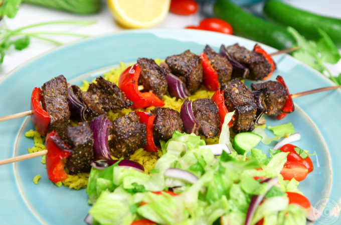 Easy Broiled Beef Kabobs