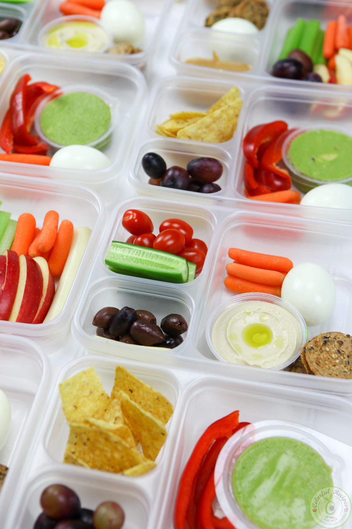 Protein Bento Snack Boxes