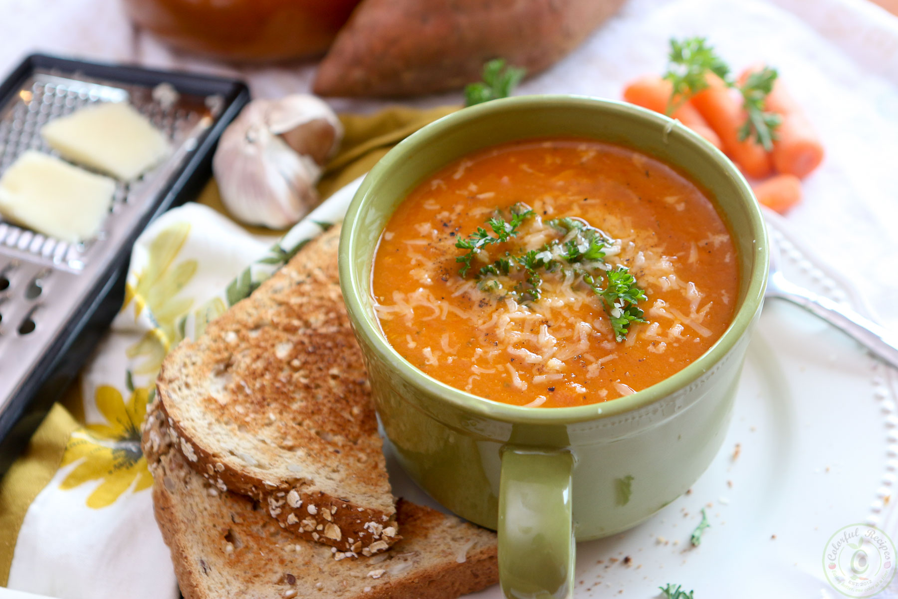 Bbc Good Food Spicy Red Pepper And Sweet Potato Soup