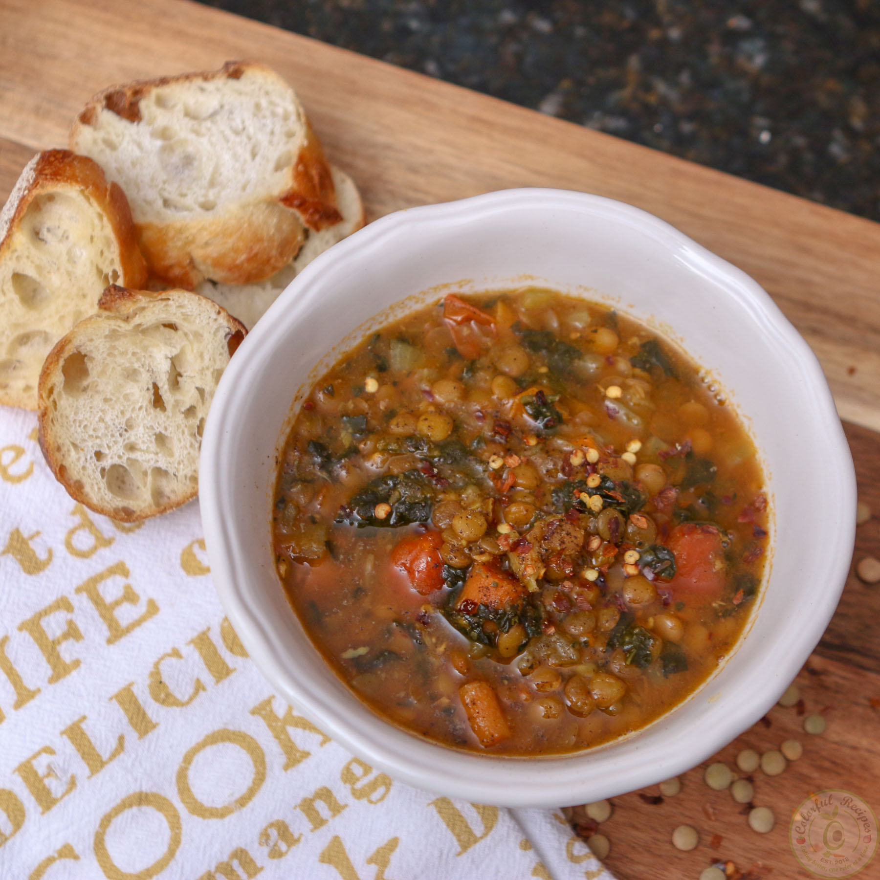 how to make lentil soup in instant pot
